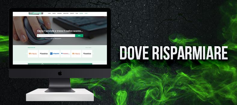 Online con la nuova versione di DoveRisparmiare!