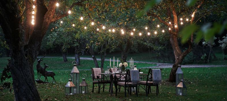 Dal barbecue alle luci, tante idee per il giardino per godersi le giornate di sole